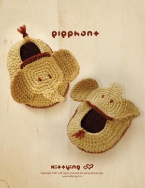 Crochet Crazy - ELEPHANT APPLIQUE PATTERN! Get the... | Facebook | 388x300