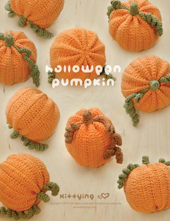 Pattern: Amigurumi Crochet Pumpkins – Crafty Kitsurou | 453x350