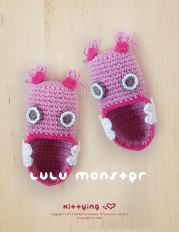 Crochet Baby Hats Crochet baby monster hat blue 0-5T- I usually ... | 453x350
