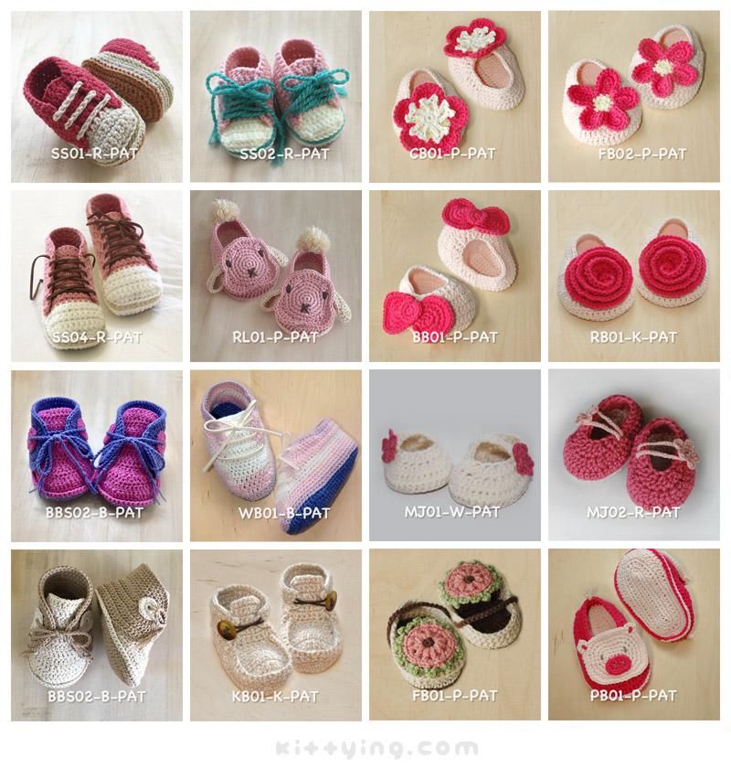 Any 8 Crochet Patterns For Usd 44 Kittying Crochet Pattern