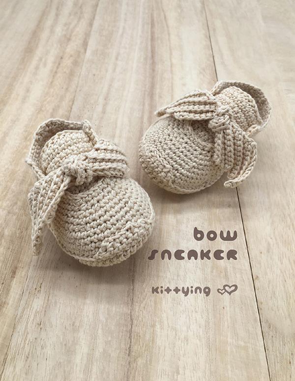Bow Sneaker Newborn / Preemie / Americal Doll Sneakers / 18 inch ...