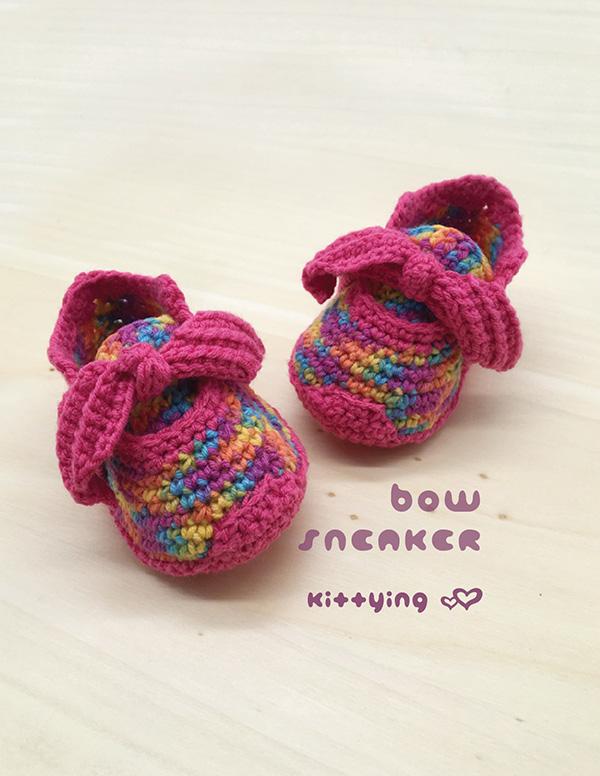 Bow Sneaker Newborn Preemie Americal Doll Sneakers 18 Inch