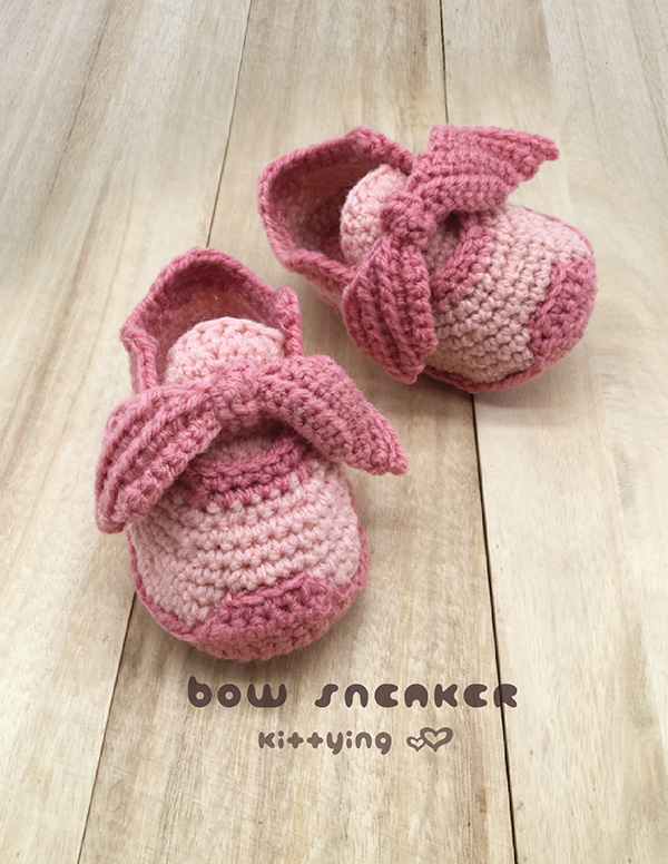 the best attitude 04eb5 70e69 Crochet Pattern Toddler Shoes Bow Sneaker inspired by Puma Fenty Bow  Sneakers