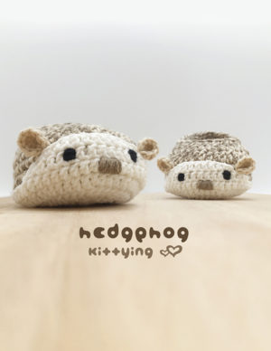 Hedgehog Baby Booties Crochet Pattern by KittyingCrochetPattern from Kittying.com | Animal Booties, Baby Bootie Crochet Pattern, Baby Booties Pattern, Baby Shoes Crochet Pattern, baby slip on shoe, booties pattern, Crochet Booties, crochet loafers, crochet newborn, Crochet Pattern, crochet shoe pattern, crochet slip-on shoe, crochet slippers, crochet sneakers, hedgehog baby booties, Hedgehog Baby Pattern, Hedgehog Baby Shoes, Hedgehog Crochet Booties, Hedgehog Shoe Pattern, Hedgehog Shoes, porcupine baby booties, porcupine baby pattern, Porcupine Baby Shoes, Porcupine Crochet Booties, Porcupine Shoe Pattern, Porcupine Shoes, Preemie Crochet Pattern, Safari Bootie PATTERNS, Size 1 to 3, Woodland Baby Booties, Woodland Crochet