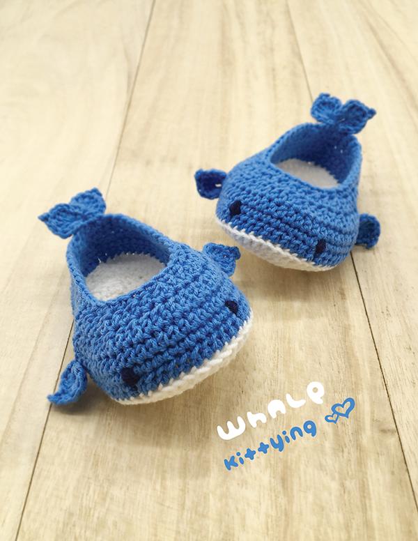 Whale Baby Booties Crochet Pattern Kittying Crochet Pattern